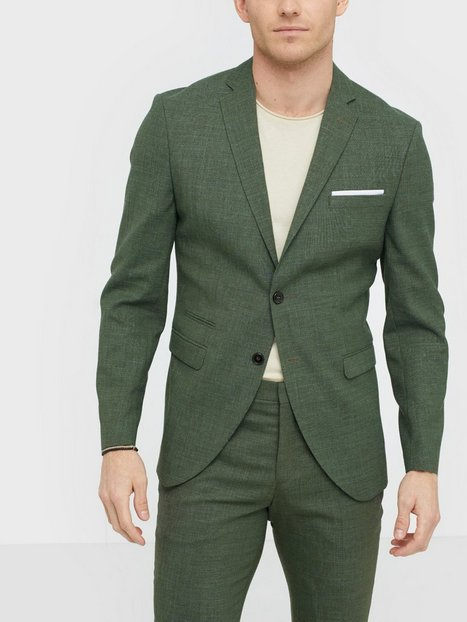 Selected Homme Slhslim Oasis Lt. Green Blz B Blazere jakkesæt Shadow - herre