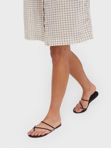 Pieces Psannie Leather Sandal Sandaler