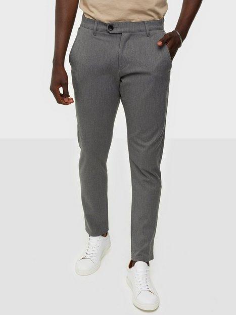 Tailored Originals Pants - TOFred Bukser Medium Grey Melange