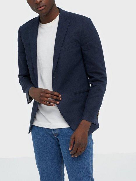Premium by Jack Jones Jprblarocco Blazer Blazere jakkesæt Mørkeblå mand køb billigt