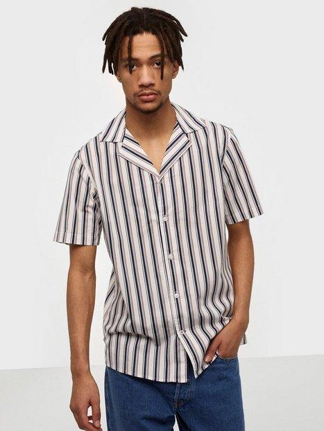 Tailored Originals Shirt - Pede SS Skjorter Insignia Blue