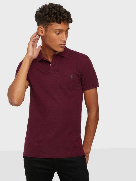 Polo Ralph Lauren Slim Fit Mesh Polo Shirt Polotrøjer Wine
