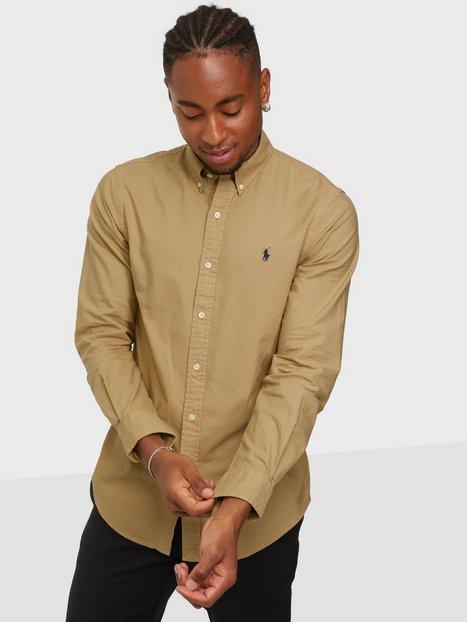 Polo Ralph Lauren Polo Sport Shirt Skjorter Camel