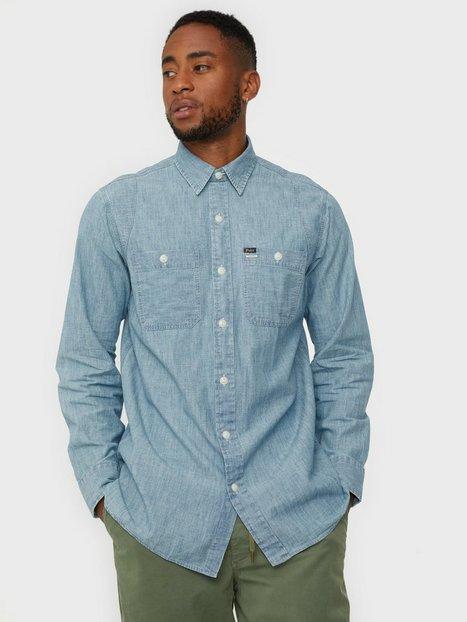 Polo Ralph Lauren Long Sleeve Sport Shirt Skjorter Blue