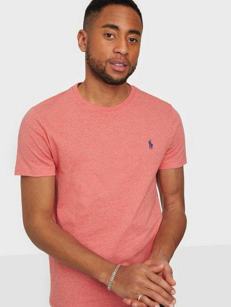 Polo Ralph Lauren Short Sleeve Polo T-Shirt T-shirts & undertrøjer Red