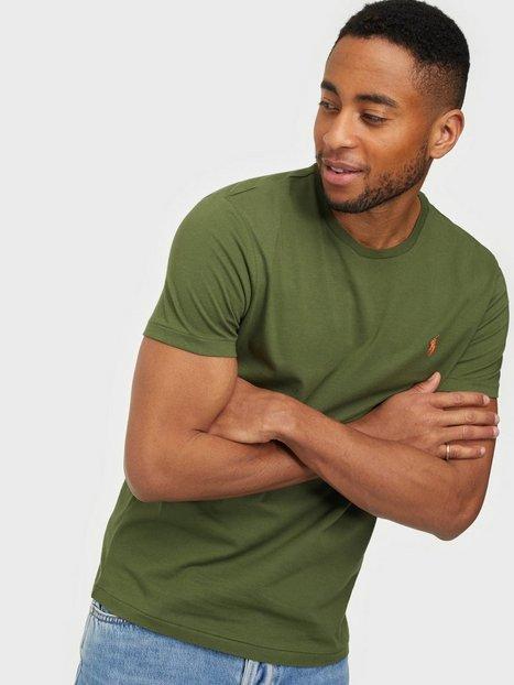 Polo Ralph Lauren Short Sleeve Polo T-Shirt T-shirts & undertrøjer Green Mist