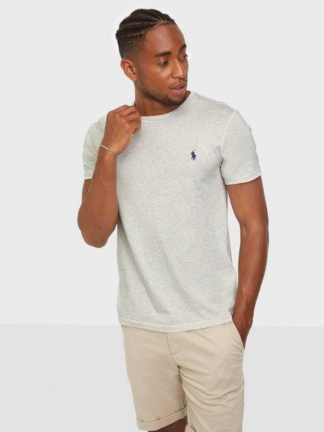 Polo Ralph Lauren Short Sleeve Polo T-Shirt T-shirts & undertrøjer Cream
