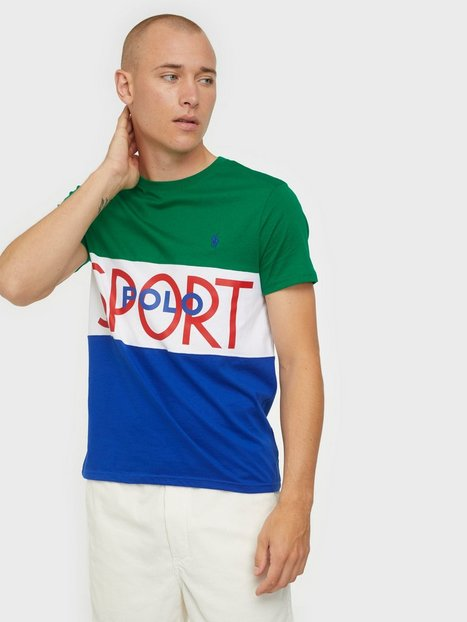 Se Polo Ralph Lauren Polo Short Sleeve T-Shirt T-shirts & undertrøjer Green ved NLY Man
