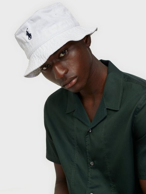 Polo Ralph Lauren Polo Bucket Hat Hatte White