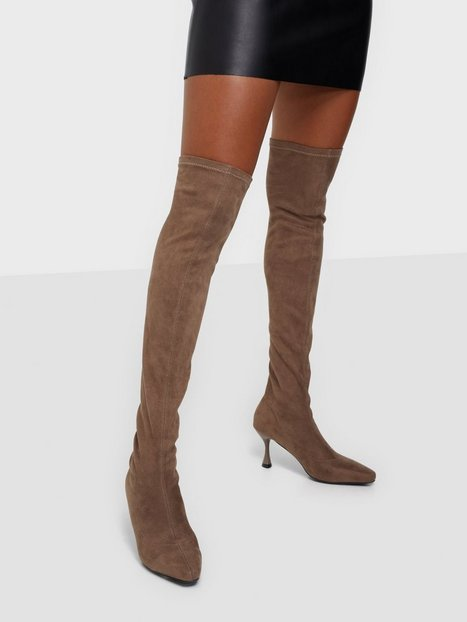 NLY Shoes Speechless Thigh Boot Thigh-high