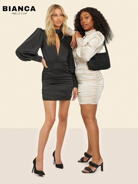Bianca x Nelly.com Key Dress Fodralklänningar Beige