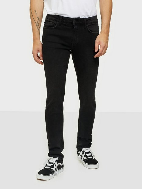 Only & Sons Onsloom Life Slim Black Ld Pk 7083 Jeans Sort