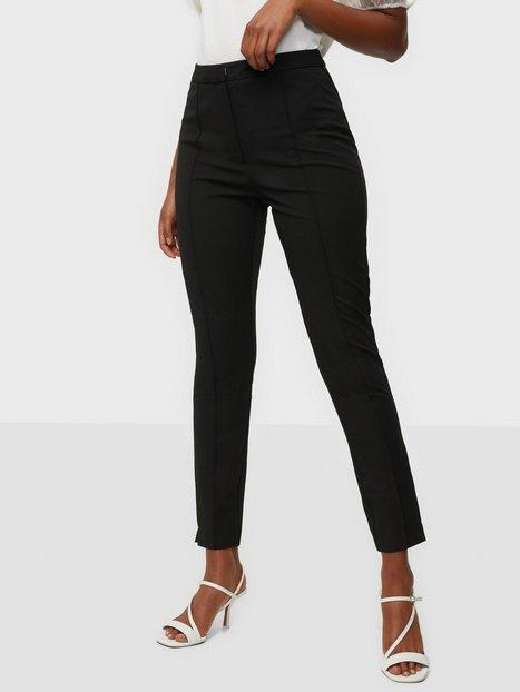 Selected Femme Slfilue Mw Pintuck Pant Noos Bukser