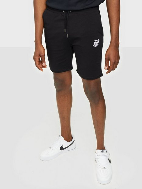 SikSilk Jersey Shorts Shorts Black