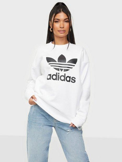 Adidas Originals Trf Crew Sweat Sweatshirts White