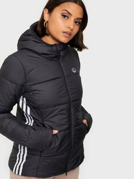 adidas Originals Slim Jacket | Svart | Dun jakker | BS5025