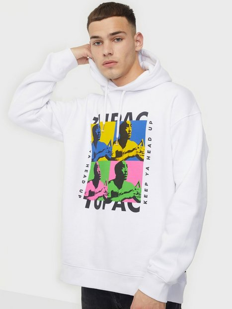 Only & Sons Onstupac Life Ovz Sweat Hoodie Trøjer White