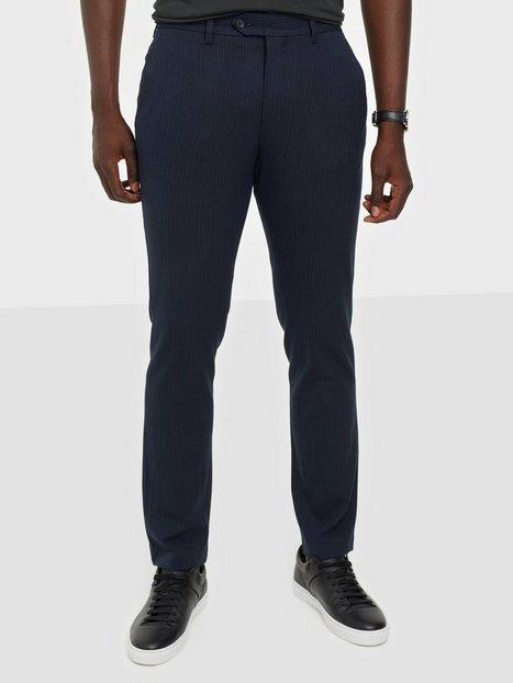 Selected Homme Slhslim-Carlo Cotflex Pants B Noos Bukser Dark Navy