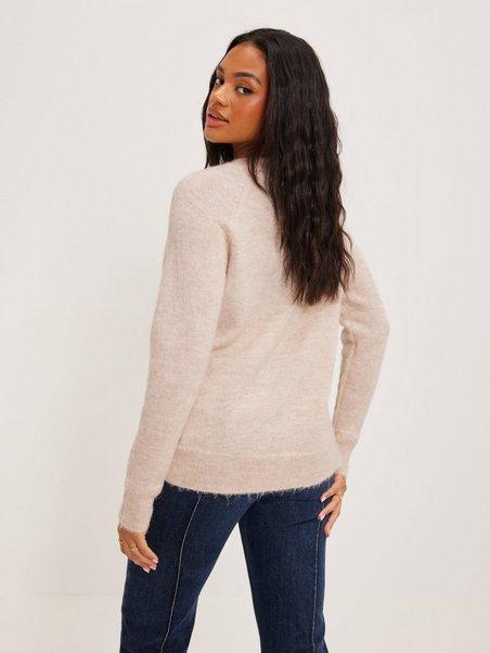 SELECTED FEMME Slflulu LS Knit V-Neck Noos Su/éter para Mujer