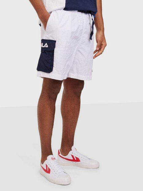 Fila Saar Woven Gargo Shorts Shorts White/Blue