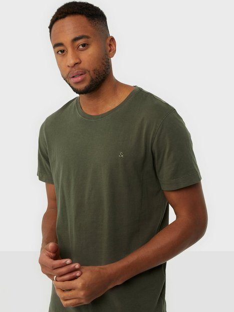 Jack & Jones Jjewashed Tee O-Neck Noos T-shirts & undertrøjer Forest Night