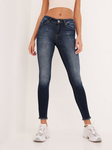 Only Onlblush Life Mid Sk Ank Rw REA837 Skinny fit