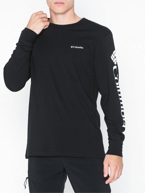 Columbia North Cascades Long Sleeve Trøjer Black - herre