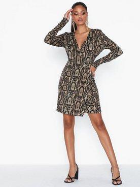 Ivyrevel Shiny Wrap Dress