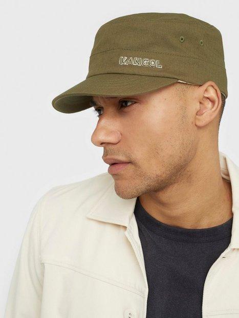 Kangol Ripstop Army Cap Kasketter Green mænd køb billigt