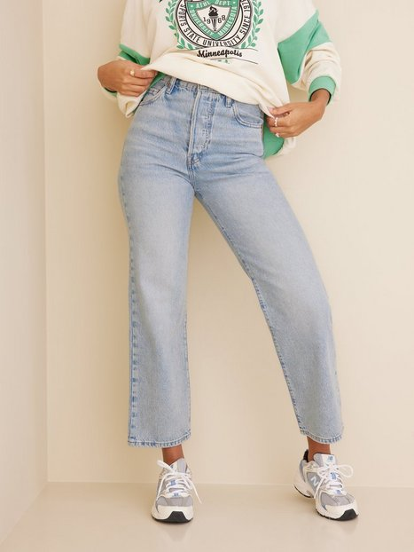 Levis Ribcage Straight Ankle Middle