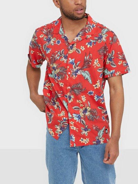 Superdry Hawaiian Box S S Shirt Skjorter Tropical - herre