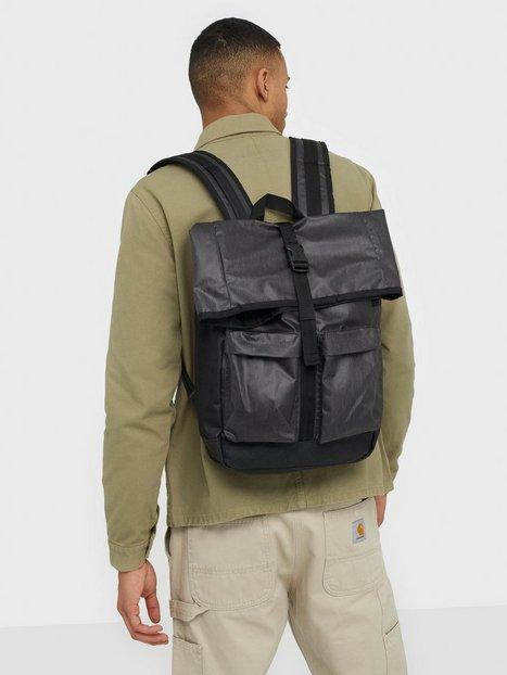 Superdry Roll Top Tarp Backpack Tasker Black - herre