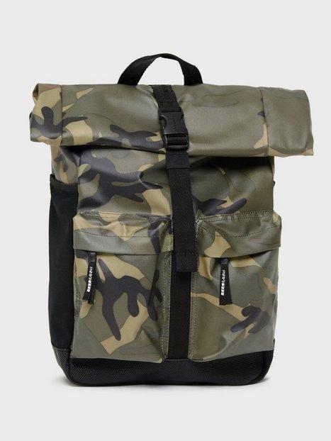 Superdry Roll Top Tarp Backpack Tasker Camo - herre