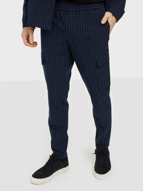 Samsøe Samsøe Smithy cargo trousers 11203 Bukser Sky Captain
