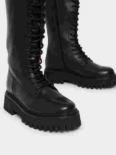 Köp Bronx BX 1651 Groov y Svart   Boots