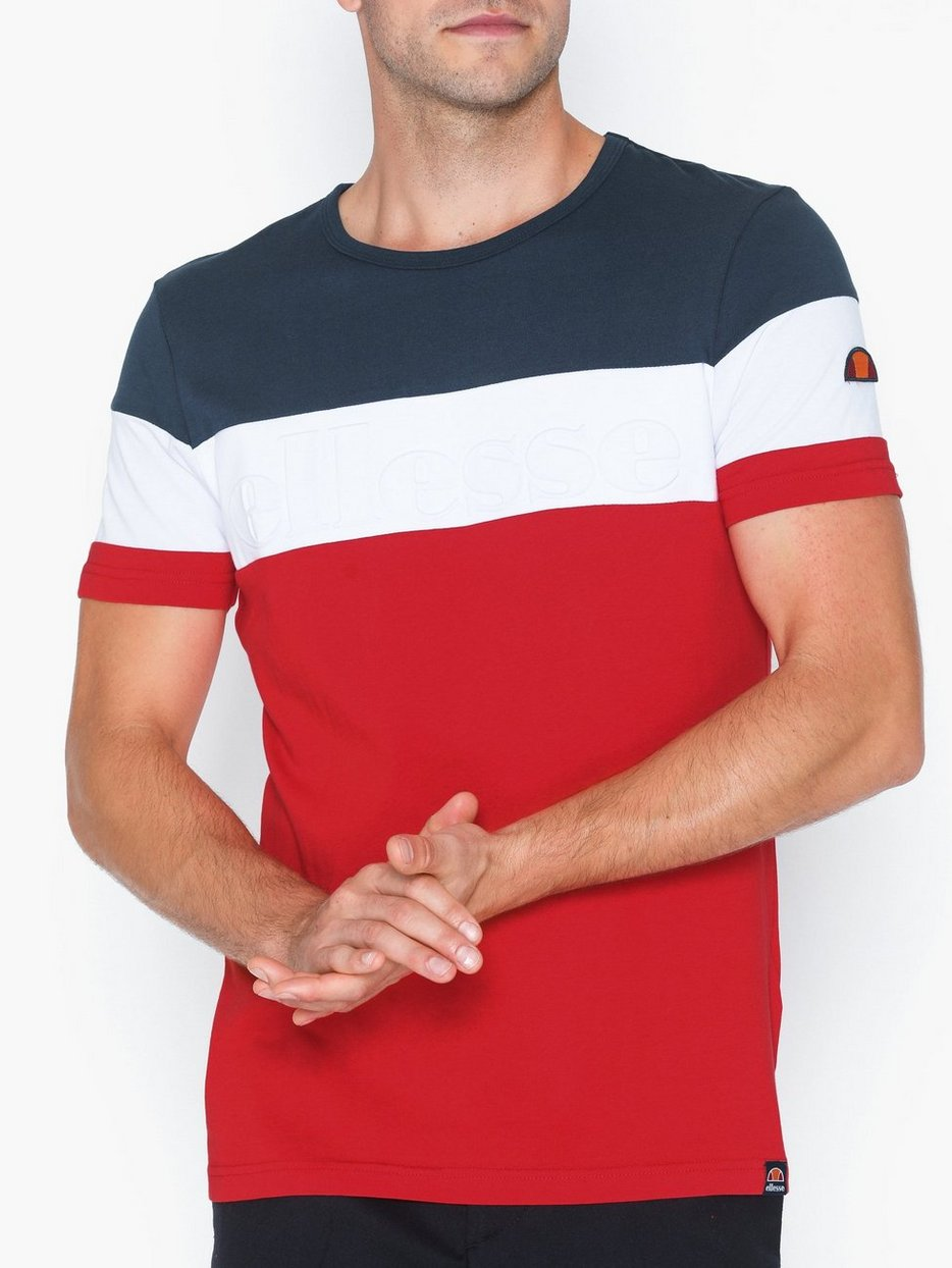 Red Ellesse Men/'s Timavo T-Shirt