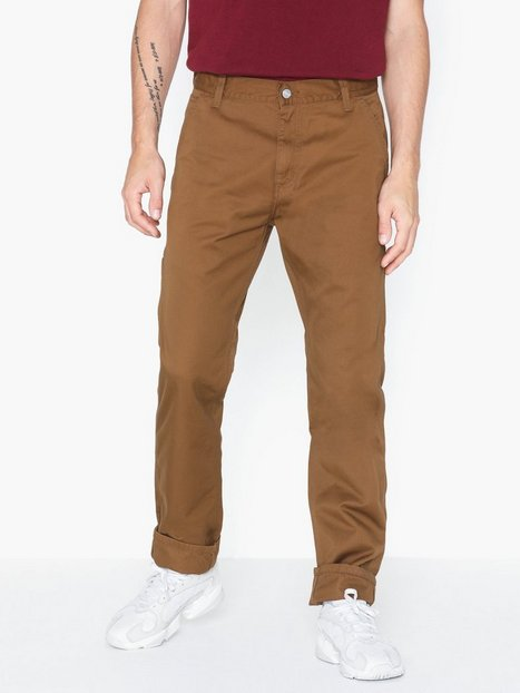 Carhartt WIP Ruck Single Knee Pant Bukser Brown - herre