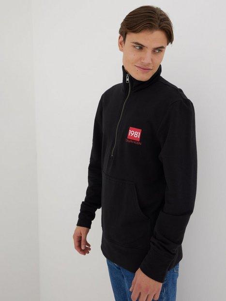 Calvin Klein Underwear Half Zip Sweatshirt Trøjer Black