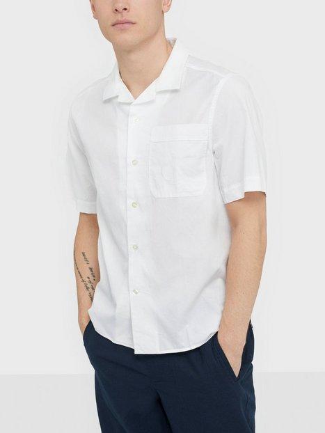 Calvin Klein Jeans Ss Relaxed White on White Skjorter White