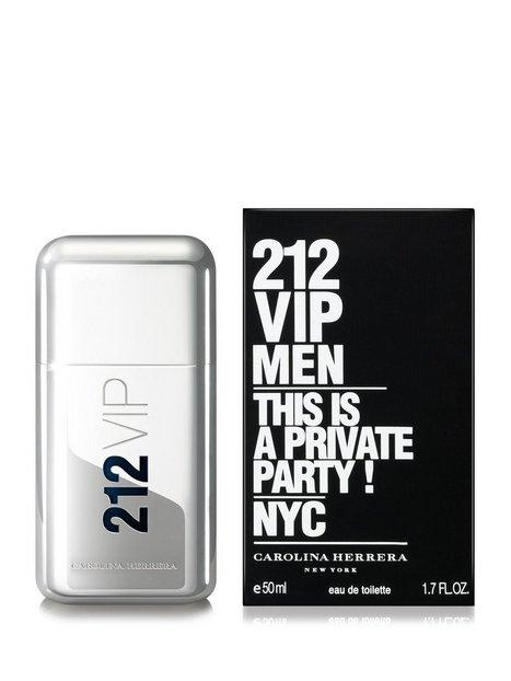 Carolina Herrera Carolina Herrera 212 Vip Men Edt 50ml Parfumer Transparent mand køb billigt
