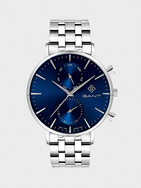 Gant Time Park Hill II Day date Ure Blue - herre
