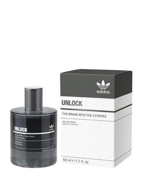 Adidas Adidas Unlock Male 50ml Parfumer Transparent mand køb billigt
