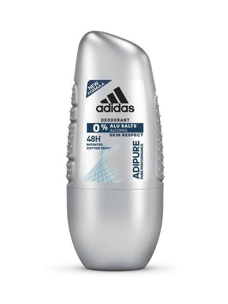 Adidas Adidas Adipure Roll On 50ml Parfumer Transparent mand køb billigt