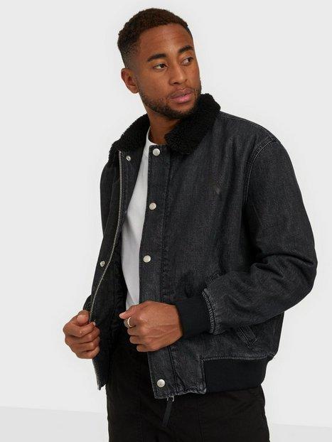 Calvin Klein Jeans Sherpa Flight Bomber Jakker & frakker Black