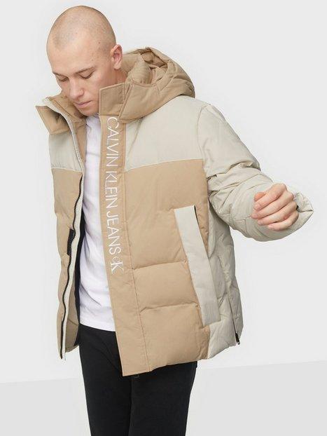 Calvin Klein Jeans Ck Eco Fashion Down Puffer Jakker & frakker Beige
