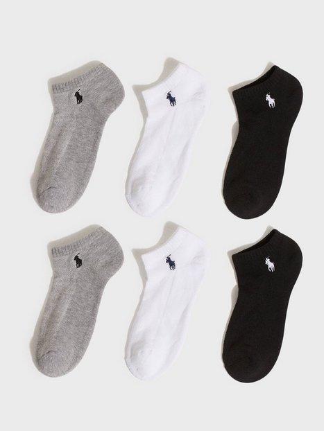 Polo Ralph Lauren 6 Pack Low Socks Ankelsockar