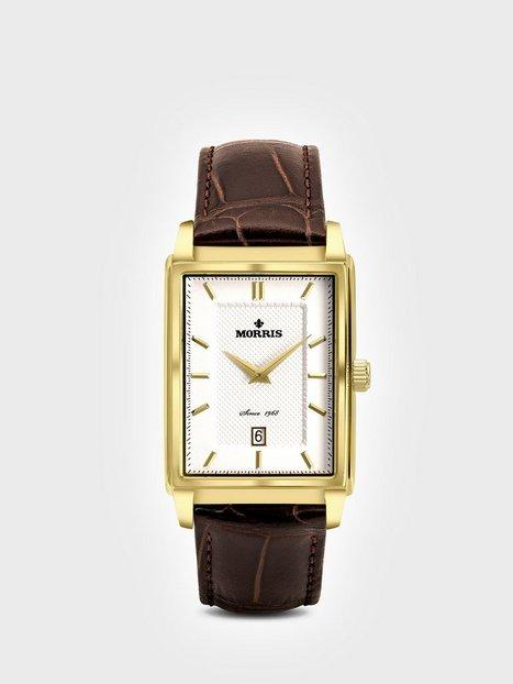 Morris Watches Sir Roger Ure Brun Guld - herre