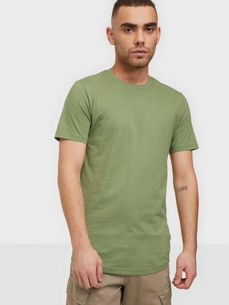 Solid SDDew SS Long Organic T-shirts & undertrøjer Green