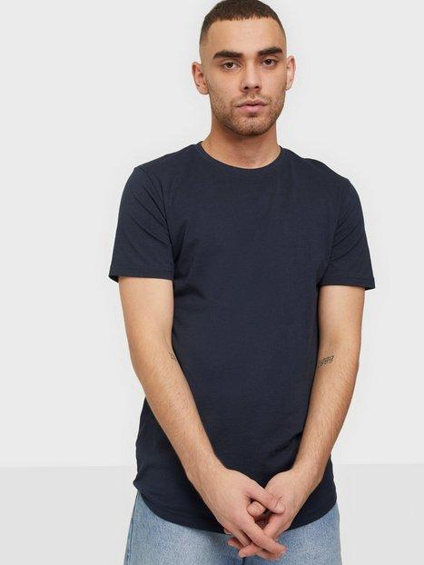 Solid SDDew SS Long Organic T-shirts & undertrøjer Insignia Blue