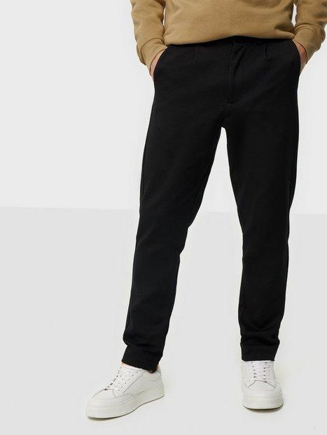 Selected Homme Slhregdrew Hybrid Trousers B Bukser Black